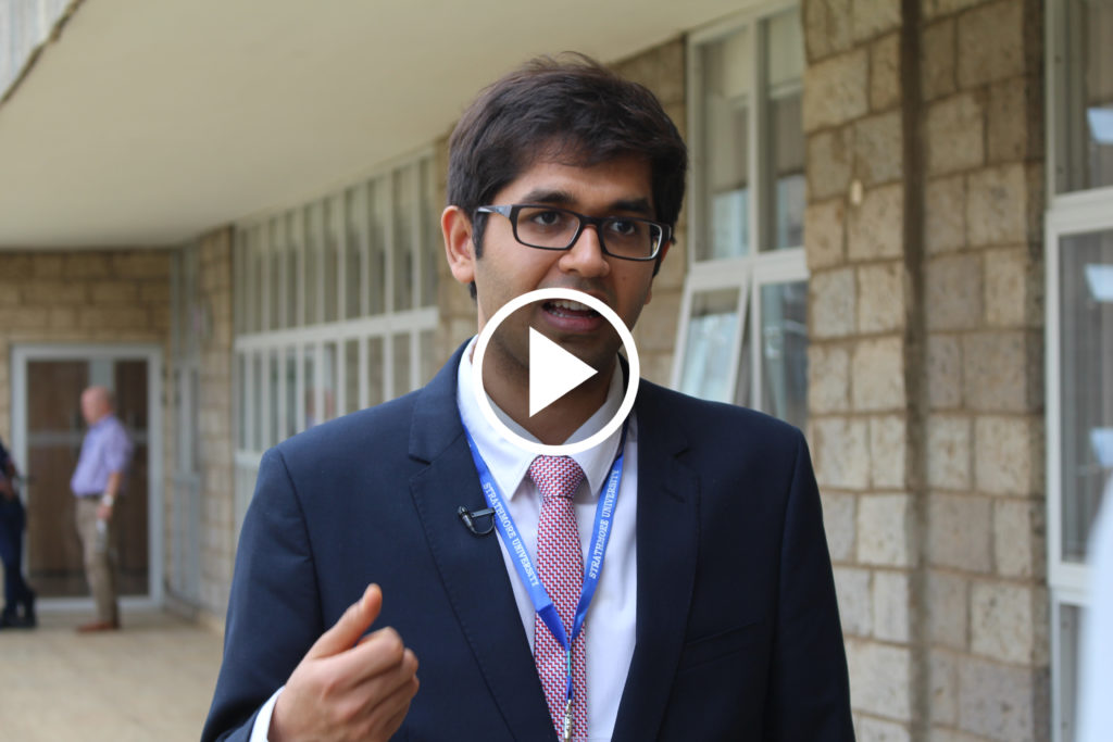 "Prateek Sibal, UNESCO at workshop ""Toward a Network of Excellence in Artificial Intelligence for Development (AI4D) in sub-Saharan Africa"", Nairobi, Kenya, April 2019"