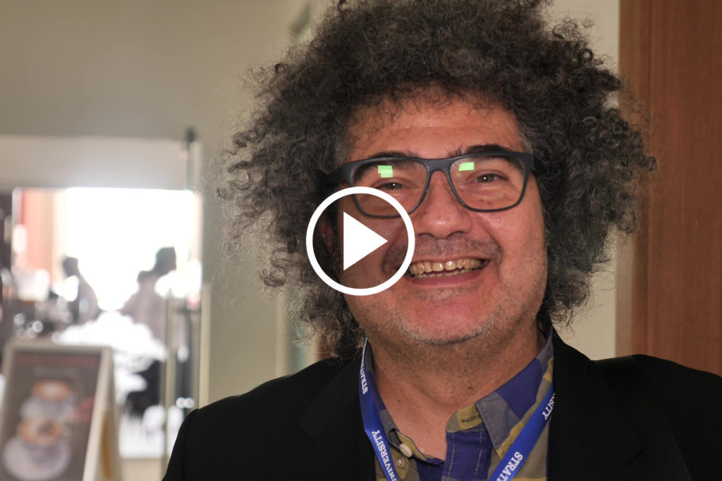 "Delmiro Fernandez-Reyes, University College London at workshop ""Toward a Network of Excellence in Artificial Intelligence for Development (AI4D) in sub-Saharan Africa"", Nairobi, Kenya, April 2019"